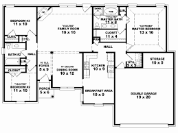 modern houseplans one story 3 bedroom modern house plans fresh 4 bedroom e story