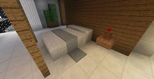 Minecraft Bathroom Designs Minecraft Furniture Decoration Bed Throw Minecraft