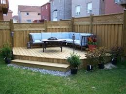 diy backyard landscaping design ideas idea for deck coming from