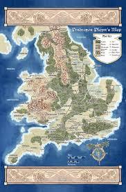 Map Of Britian Pendragon The Great Pendragon Campaign