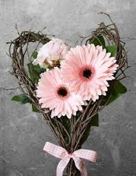 Daisy The Flower - baby u0027s breath and rose open heart sympathy flowers pinterest