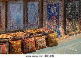 The Carpet Market The Carpet Market In Kaleici Neighborhood Of Antalya Is The Stock
