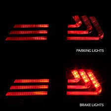 lexus gs430 led tail lights xtune 2006 2011 lexus gs led tail lights w fiber optic tube u0026 led
