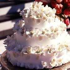 dogwood blossom wedding cake recipe myrecipes