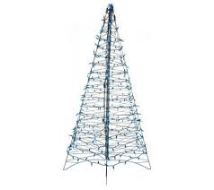 pre lit 6 fold flat outdoor tree by lori greiner page