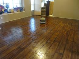 Wood Grain Stamped Concrete by Creative Ideas Using Concrete Floor Paint Flooring Stuffs Ideas