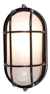 themed wall sconces nauticus location bulkhead black finish frosted glass