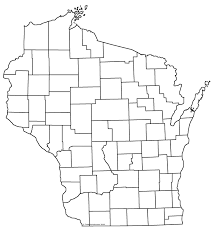 Counties In Wisconsin Map by Wivuch Maps And Forms