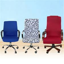 Office Chair Covers Swivel Computer Chair Cover Stretch Office Armchair Protector Seat