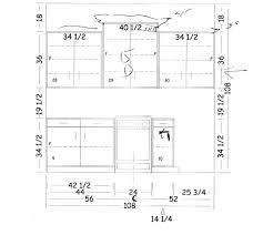 kitchen cabinet construction dimensions