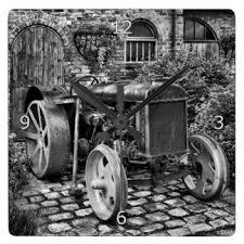 vintage tractor wall clocks zazzle