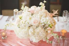 roses centerpieces hydrangea and stock flower centerpieces