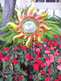 solar powered garden stakes cool decorative lawn ornaments