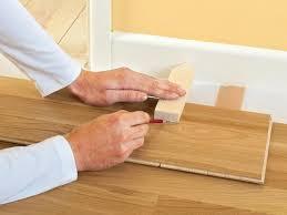 Locking Laminate Flooring How To Install Click Lock Laminate Flooring How Tos Diy