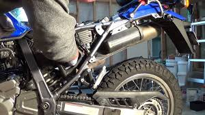 suzuki dr650 air filter cleaning youtube