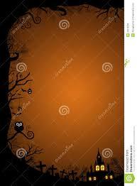 halloween border for design royalty free stock image image 32978356