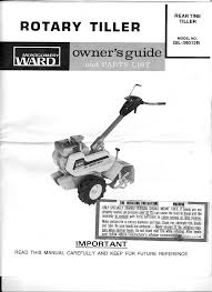 ward u0027s tiller gil 39012b user guide manualsonline com