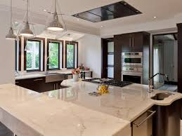 Kitchen Black Accents In Modern Marble Kitchen Room Of The Week