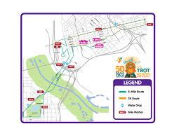 Dart Dallas Map 8 Mile Run