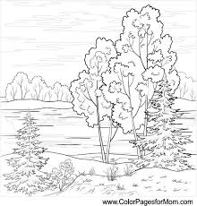 free printable coloring pages for adults landscapes free coloring pages for adults to print and color landscapes nc to
