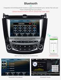 for honda accord 7th single ac in dash car stereo dvd gps navi