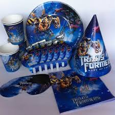 transformers party supplies online buy wholesale party supplies pack from china party supplies