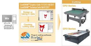 corel draw x6 rutor finecut8 for coreldraw software mimaki