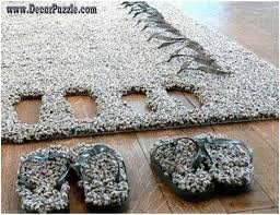 bathroom captivating white square bath mats rug on grey ceramic