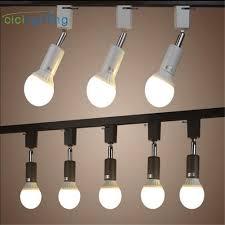 Ceiling Track Light Fixtures Shop Loft Minimalist E27 Track Light Universal Connector