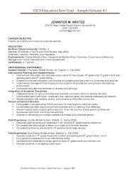 Resume Best Sample by Pay To Get Family And Consumer Science Resume