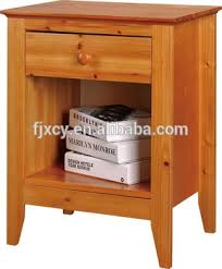 nightstand 2 drawer bedside table end table side cabinet wood