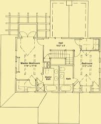 cape cod style house plans for a 2 story 3 bedroom cottage