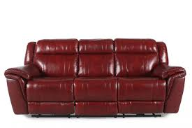 Burgundy Living Room Furniture by Boulevard Chili Pepper Burgundy Power Recliner Sofa Mathis