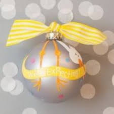 we re expecting ornament by doodlebugsga on etsy purchase at www