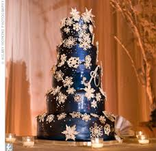 snowflake cake dark blue navy your beautiful event