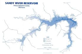 Map Of Central Virginia by Sandy River Reservoir Vdgif