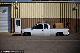 Chevy Silverado Work Truck 2014 - when the working man gets slammed speedhunters