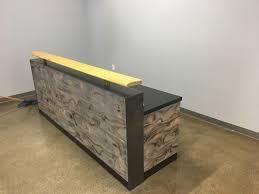 Reception Desk Wood by Welcome Desk Archives Envisionary Images