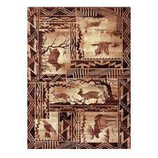 Animal Area Rug Donnieann Animal Print Area Rugs Rugs The Home Depot