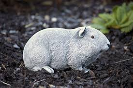 garden ornament guinea pig handmade resitant made in