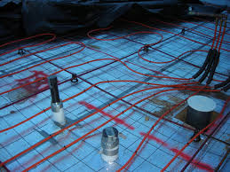 hydronic radiant floor heating in post tension slab on grade