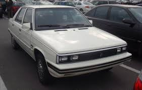 1985 renault alliance convertible let u0027s see some same car different looks for different markets