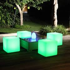 color changing outdoor lights colour changing outdoor light cube by jusi colour