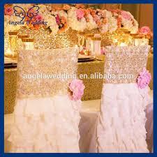tutu chair covers ch019a hot sale fancy wedding ruffled cheap tutu tulle chair