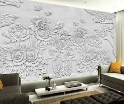 Wohnzimmer Tapeten Design Online Get Cheap Tapete Pfingstrose Aliexpress Com Alibaba Group
