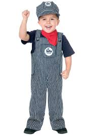 toddler boy costumes toddler conductor costume kids railroad worker costume