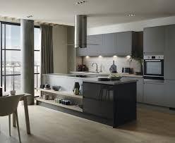 Howdens Kitchen Design Clerkenwell Super Matt Slate Grey Kitchen Contemporary Kitchens
