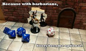 Dungeons And Dragons Memes - dungeons and dragons barbarian meme by icdrag2002 on deviantart