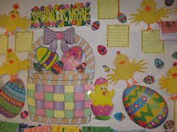 Easter Decorating Ideas For Bulletin Boards by Patties Classroom Rechenka U0027s Eggs Spring Bulletin Board