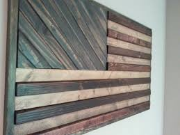 american flag theme wood wall by weatheredwoodwalls on etsy